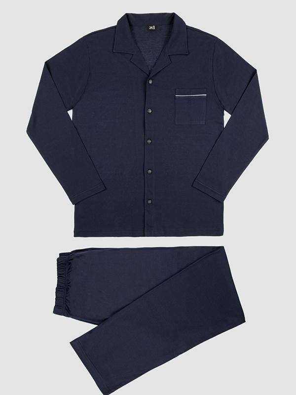 Pijamas de ZD Zero Defects en azul marino