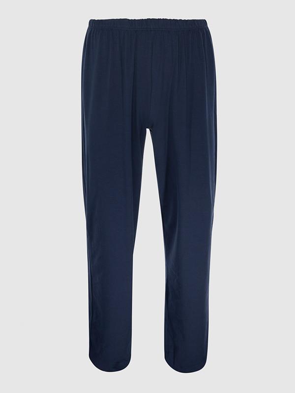 Pantalón de pijama de ZD Zero Defects azul marino