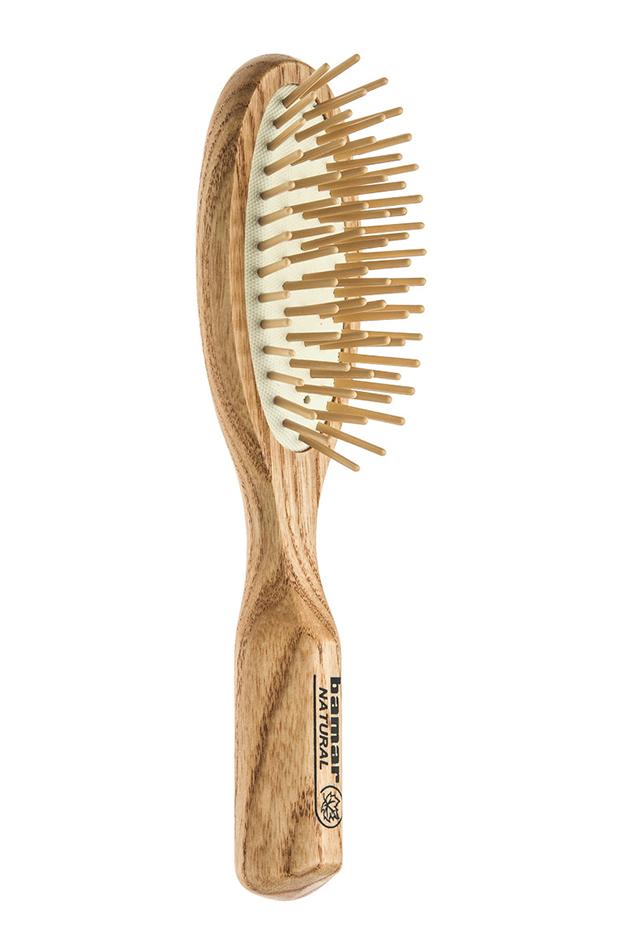 cepillo de madera productos para peinado de fiesta