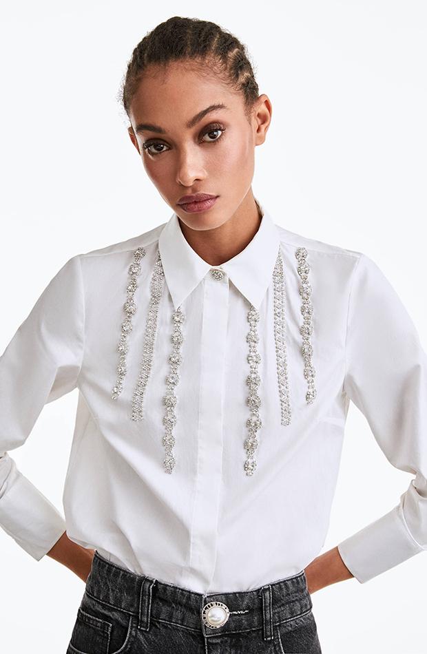Color blanco camisa uterque