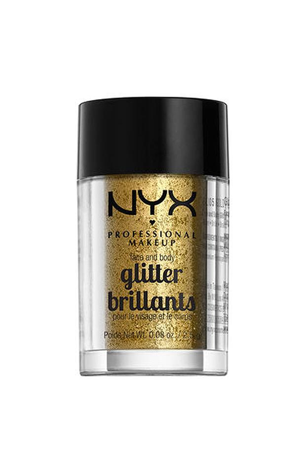 maquillaje de fiesta glitter nyx
