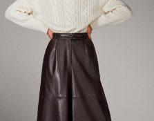 12 pantalones de piel (y efecto piel) para este invierno