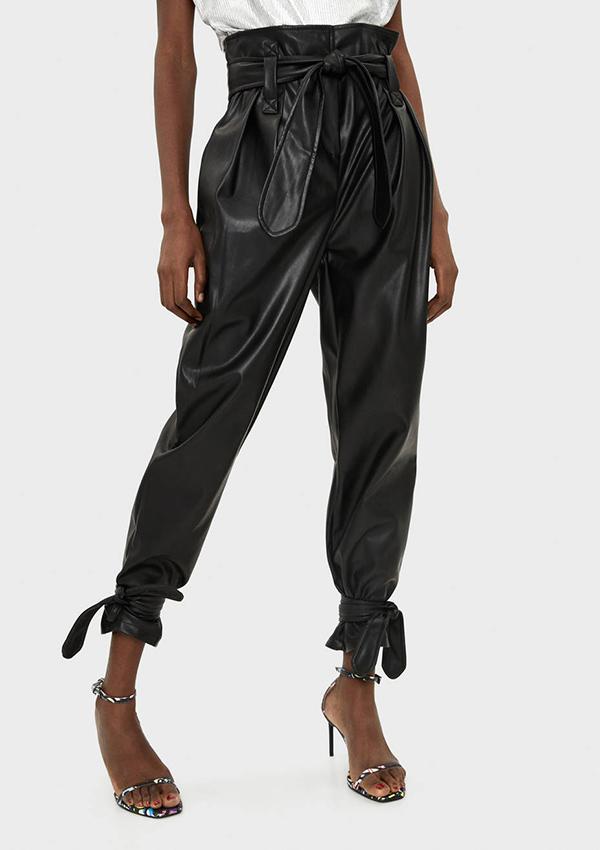 12 Pantalones De Piel Y Efecto Piel Para Este Invierno Stylelovely