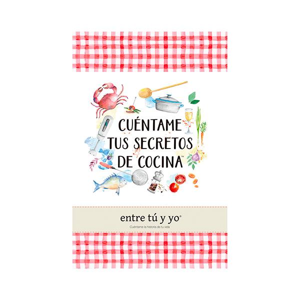 Regalos de amigo invisible: libro de recetas