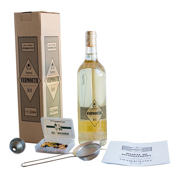 Kit para hacer vermouth casero como regalo de navidad