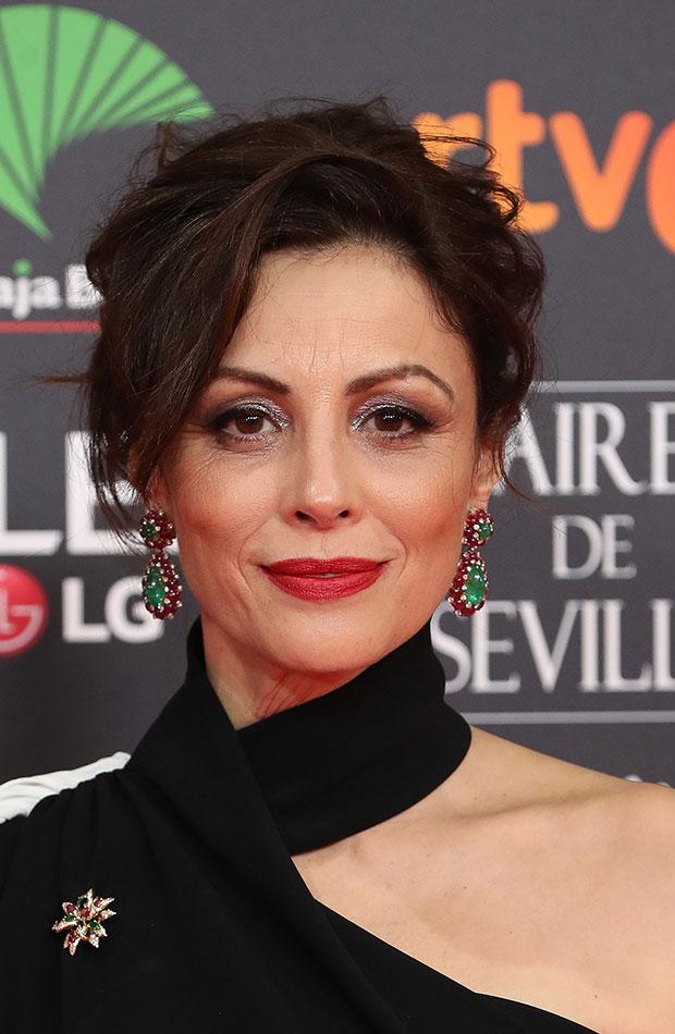 Ana Álvarez Looks de belleza Goya 2020