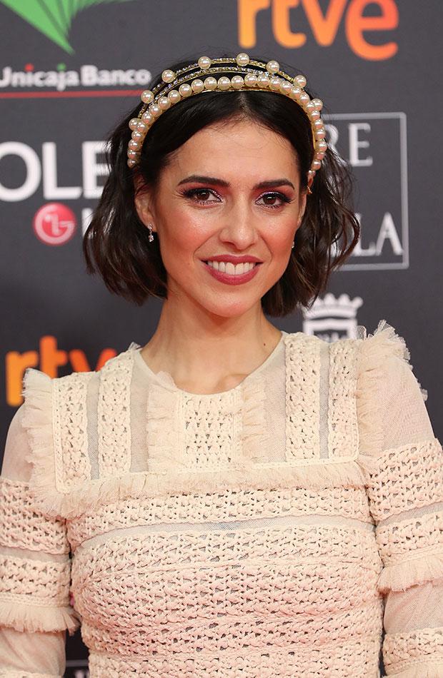 Cristina Brondo Looks de belleza Goya 2020