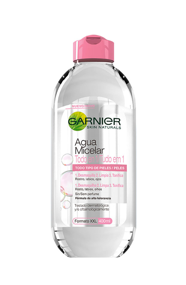 propositos beauty agua micelar garnier