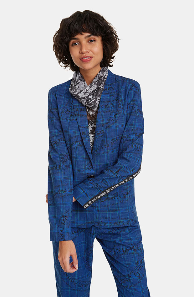 azul clasico blazer