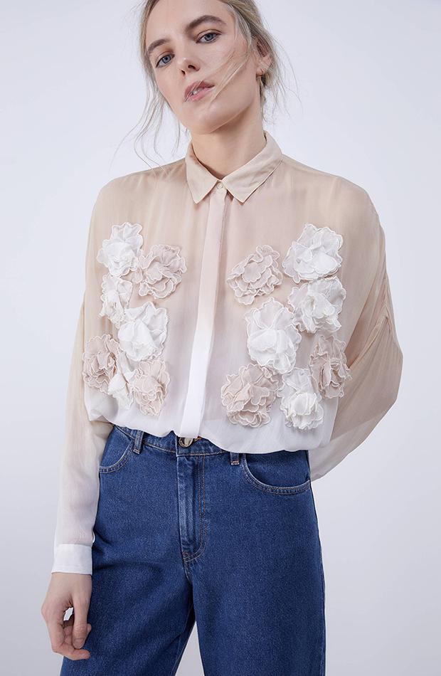 camisas romanticas