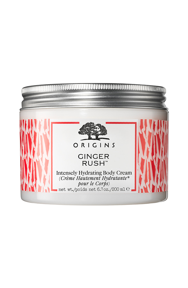 cremas corporales balsamo ginger rush Origins
