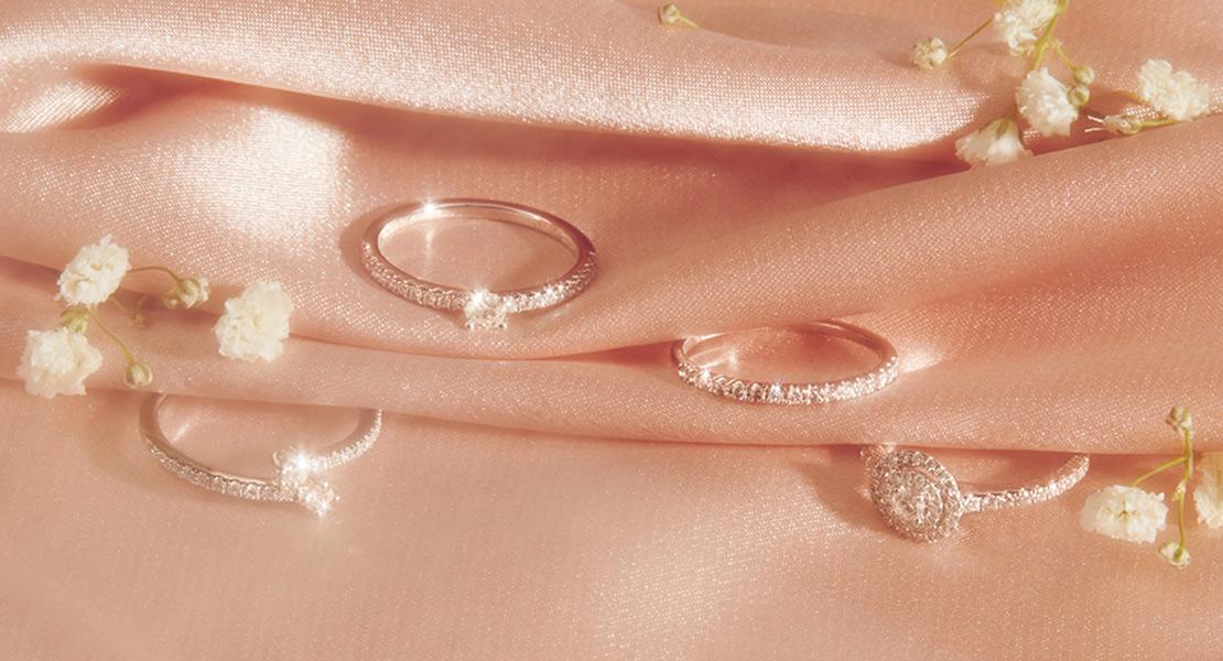 Joyas con diamantes de Suarez