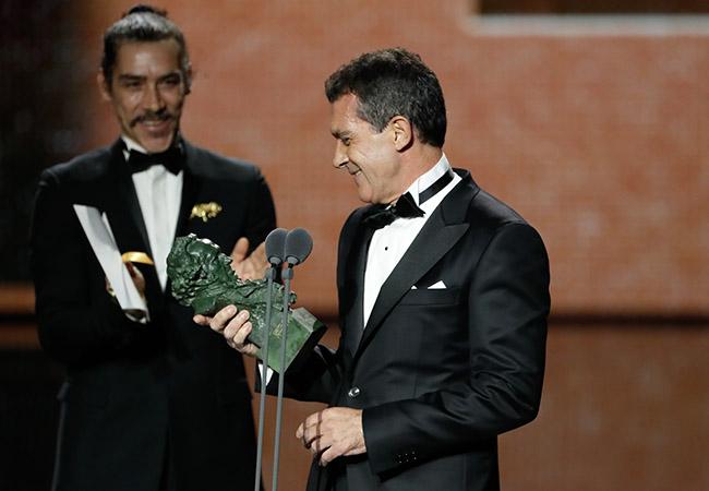Antonio Banderas ganador del Goya a mejor actor protagonista