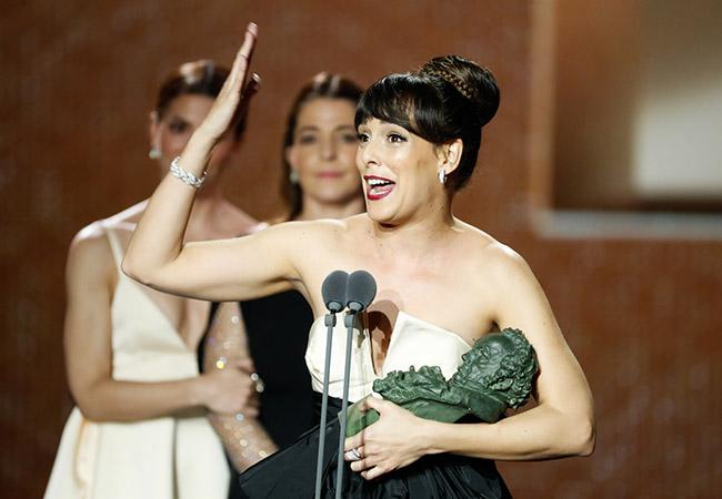Belén Cuesta ganadora del Goya a mejor actriz protagonista