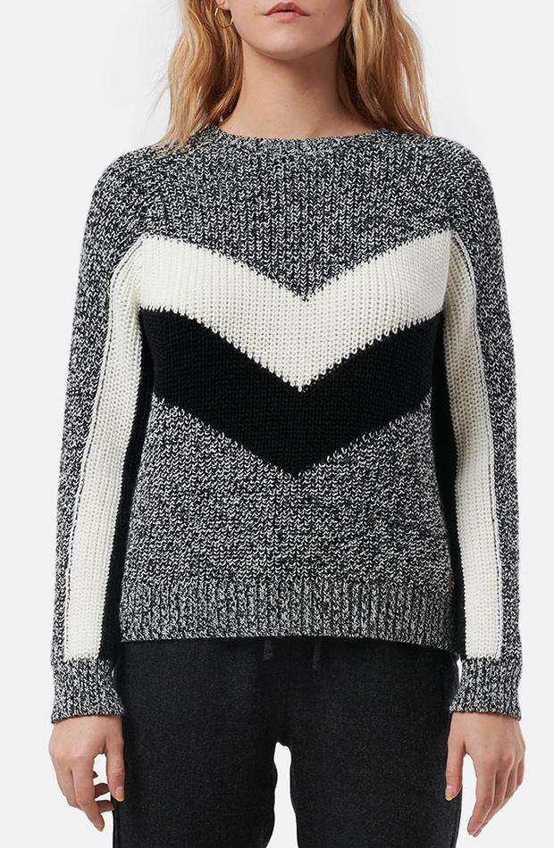 jerseis de punto con cenefa