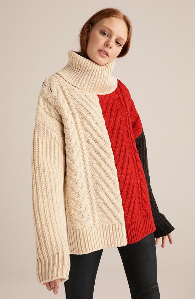 jerseis de punto color block