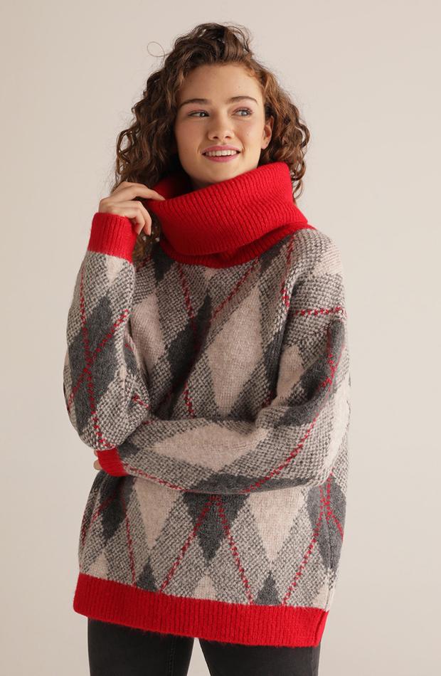 jerseis de punto con rombos