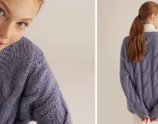 Con este frío apetece usar jerséis de punto gordito