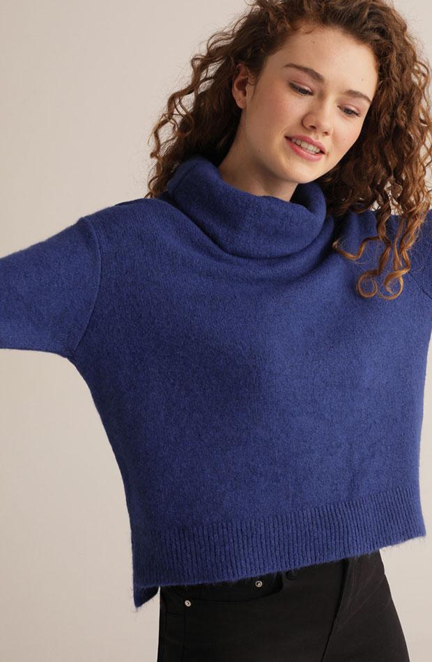azul clasico jersey corto