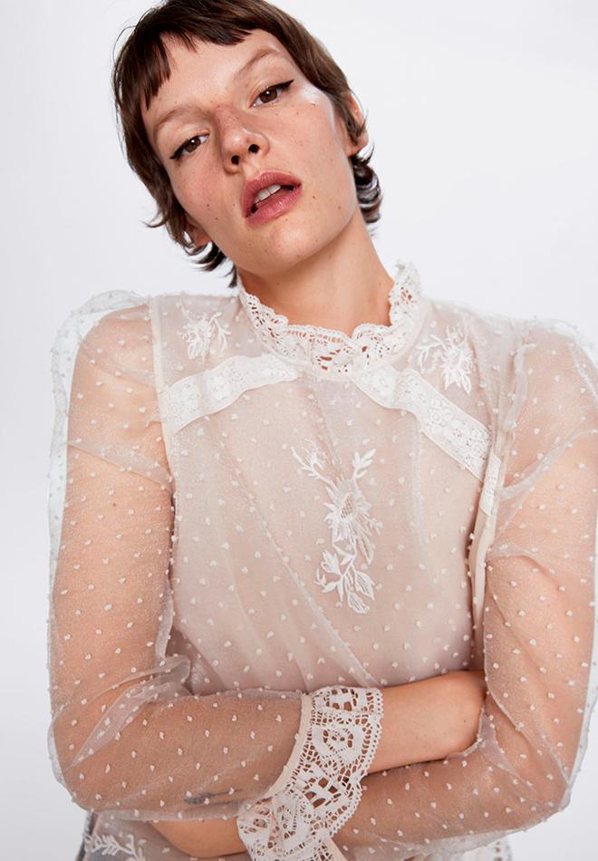 Camisa de plumeti de las Novedades de Zara primavera 2020