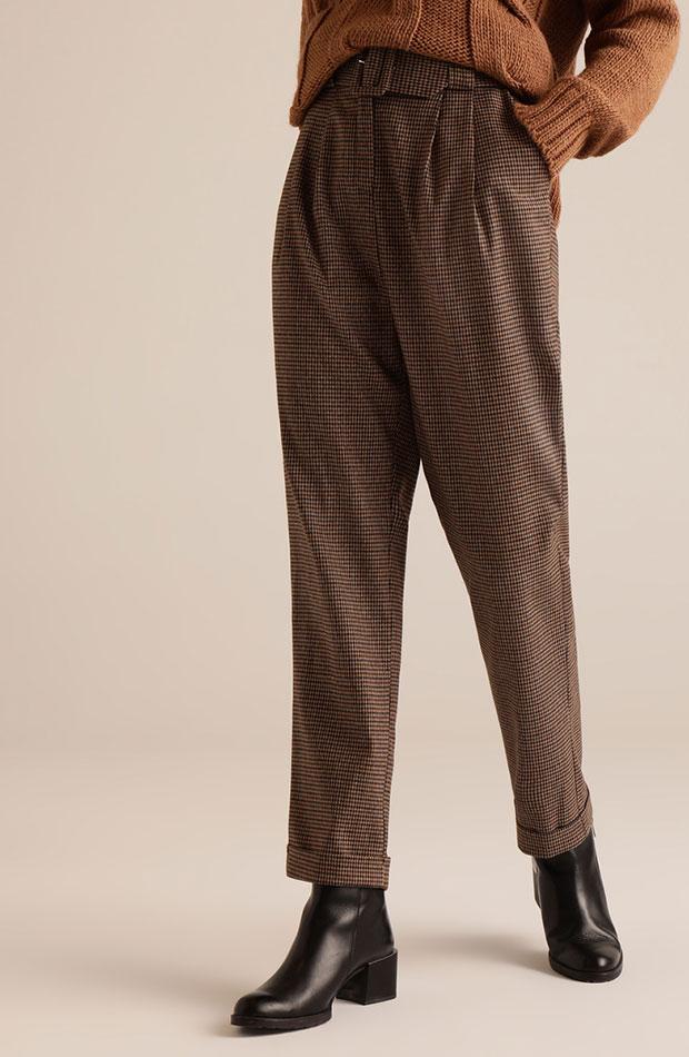 rebajas enero 2020 pantalones de cuadros