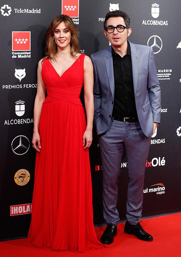 Eva Ugarte y Berto Romero