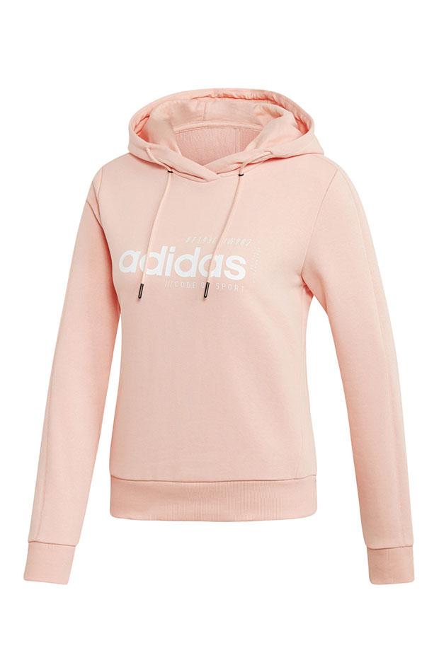 ropa deportiva sudadera rosa adidas