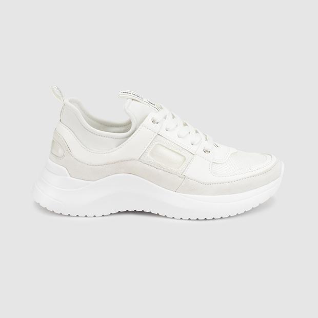 zapatillas en tendencia Calvin Klein color blanco