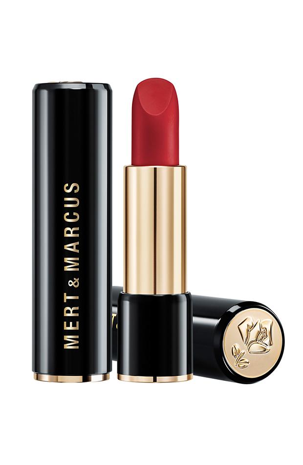 labial rojo Maquillaje estilo glam Mert and Marcus Lancôme El Corte Inglés
