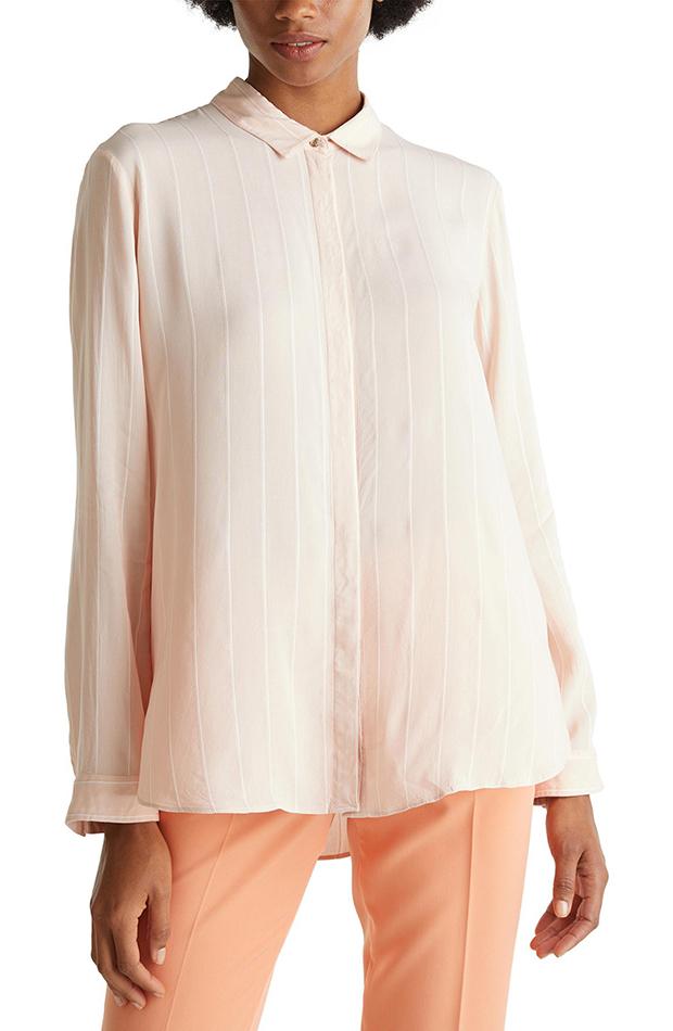 Camisa manga larga rayas Esprit estilos de camisa