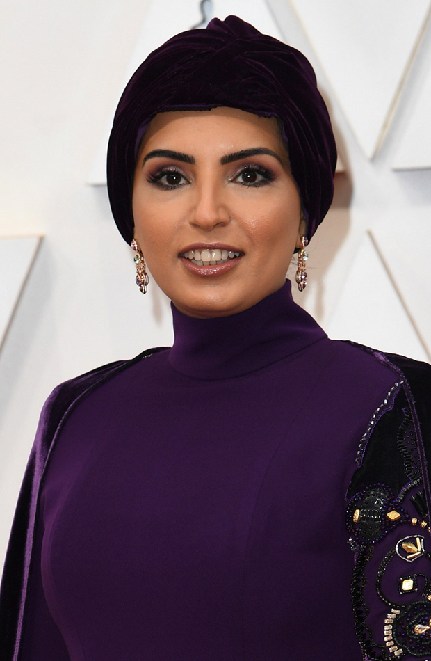 Fatma Al Remaihi Looks Beauty Oscar 2020