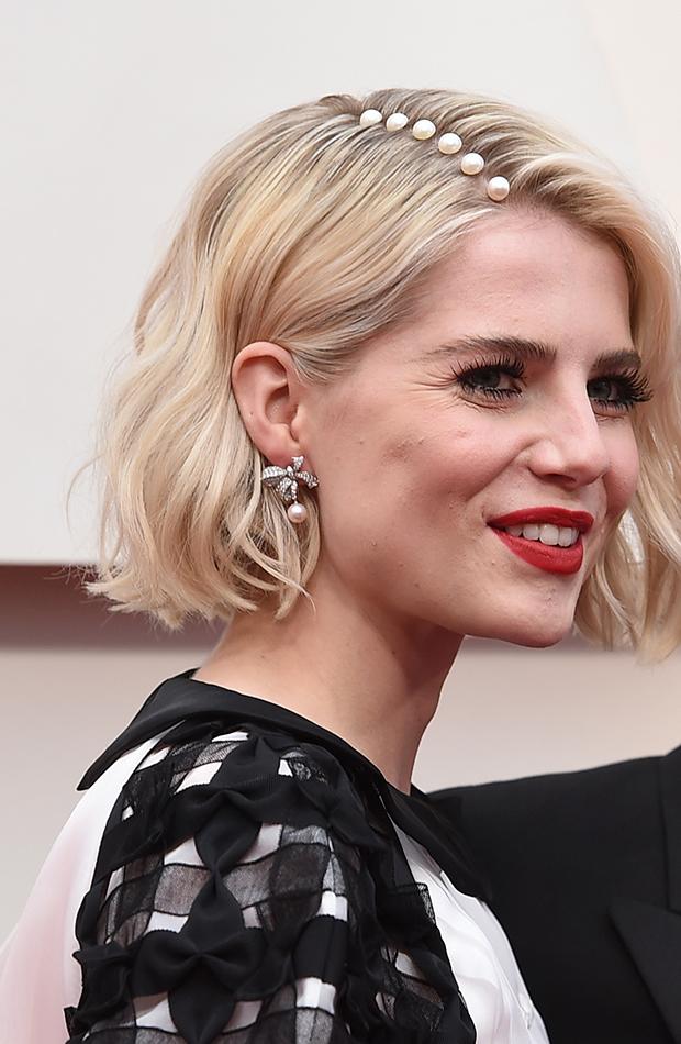 Lucy Boynton looks beauty Oscar 2020