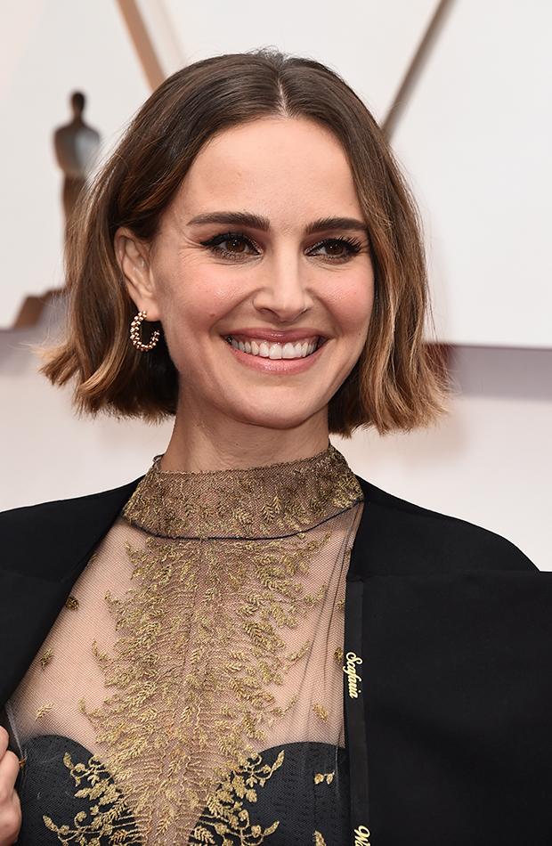 Natalie Portman looks de belleza Oscar 2020