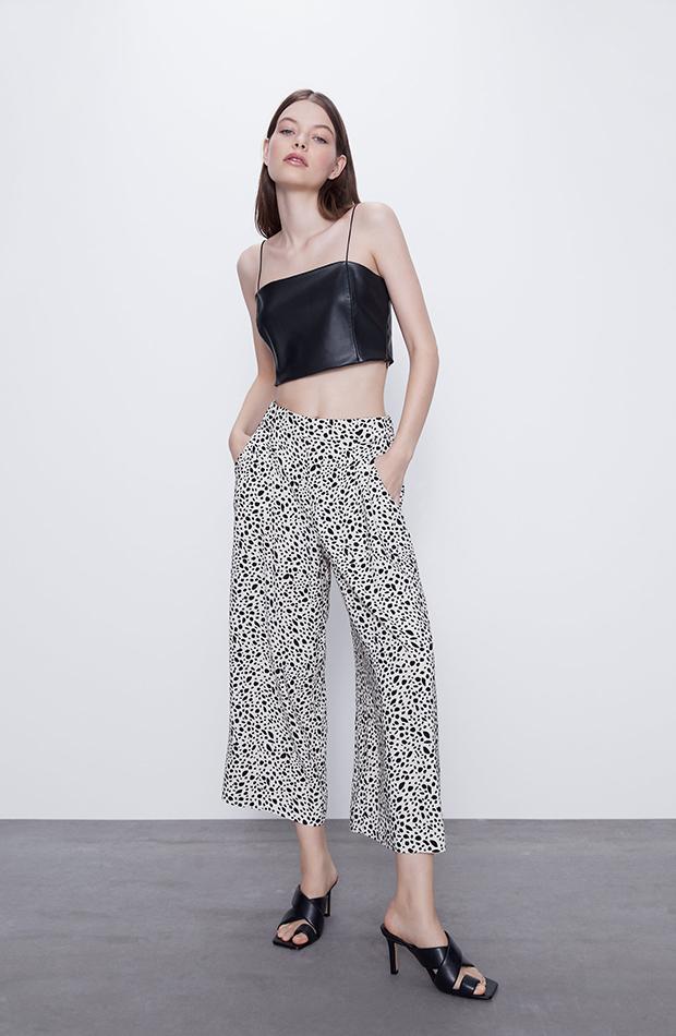 pantalones estampados cutlotte Zata