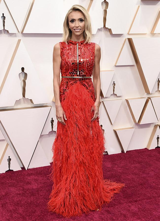 Giuliana Rancic en los Premios Oscar 2020