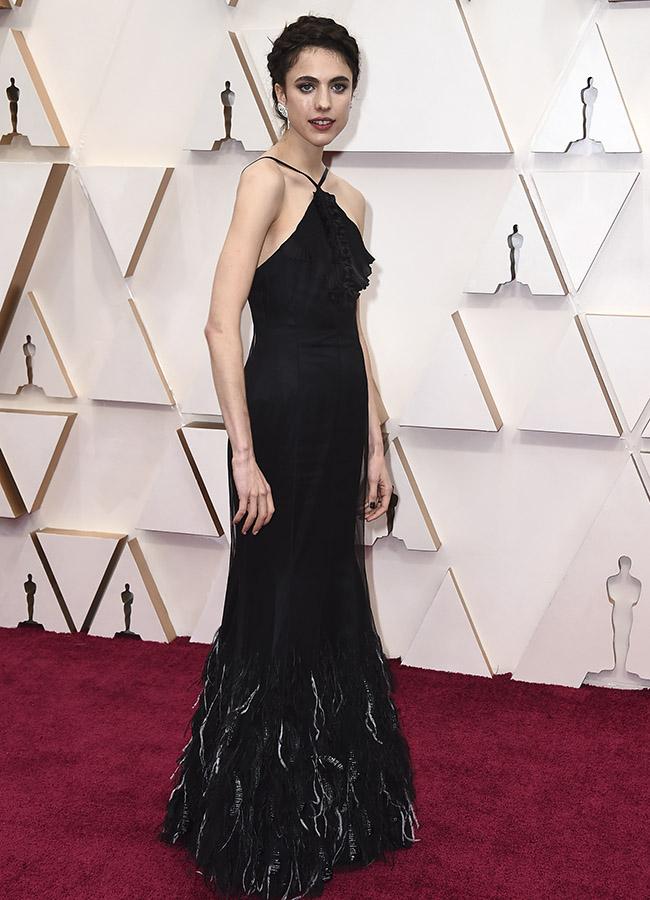 Margaret Qualley en los Premios Oscar 2020