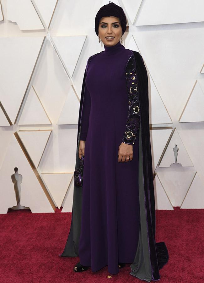 Fatma Al Remaihi en los Premios Oscar 2020