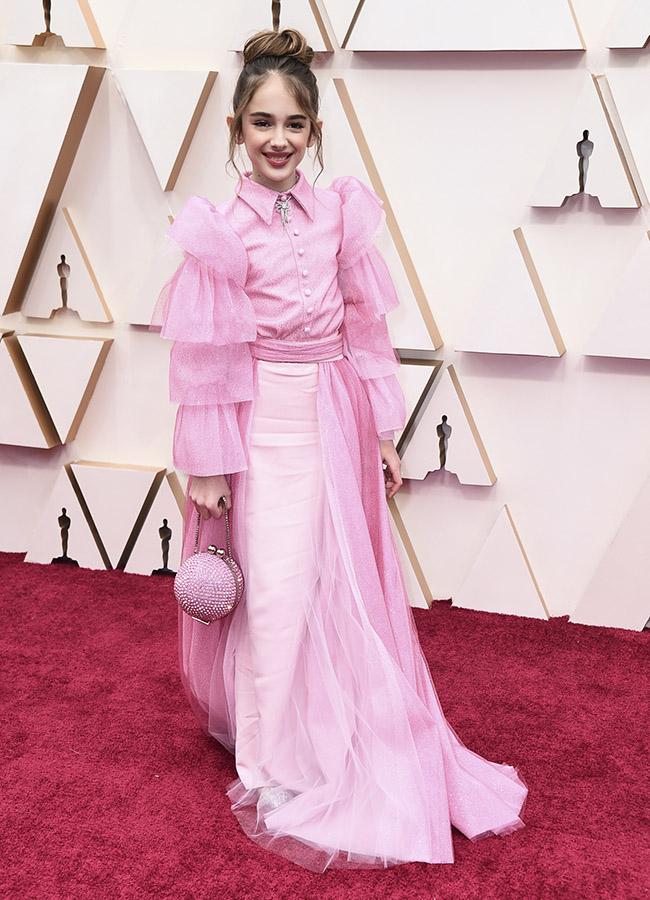 Julia Butters en los Premios Oscar 2020