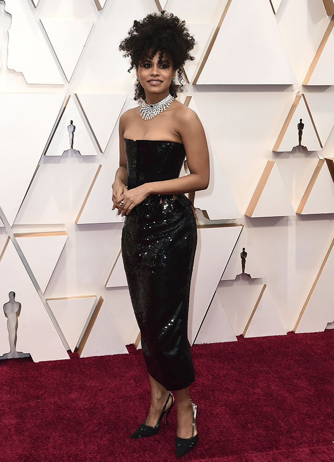 Zazie Beetz en los Premios Oscar 2020