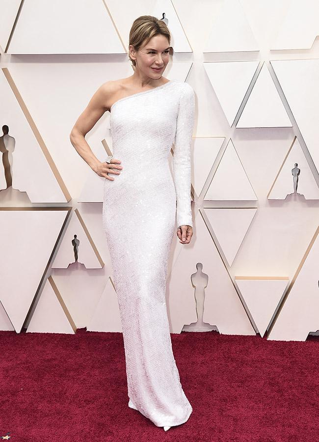 Renee Zellweger en los Premios Oscar 2020