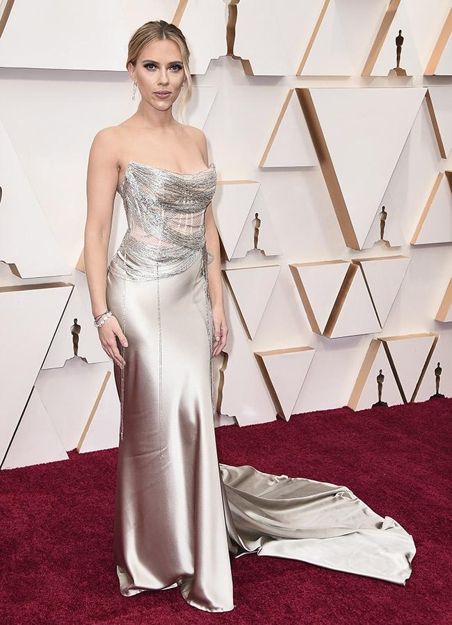 Scarlett Johansson en los Premios Oscar 2020