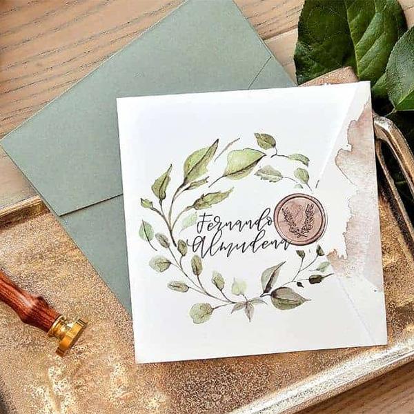 Tendencias en invitaciones para bodas