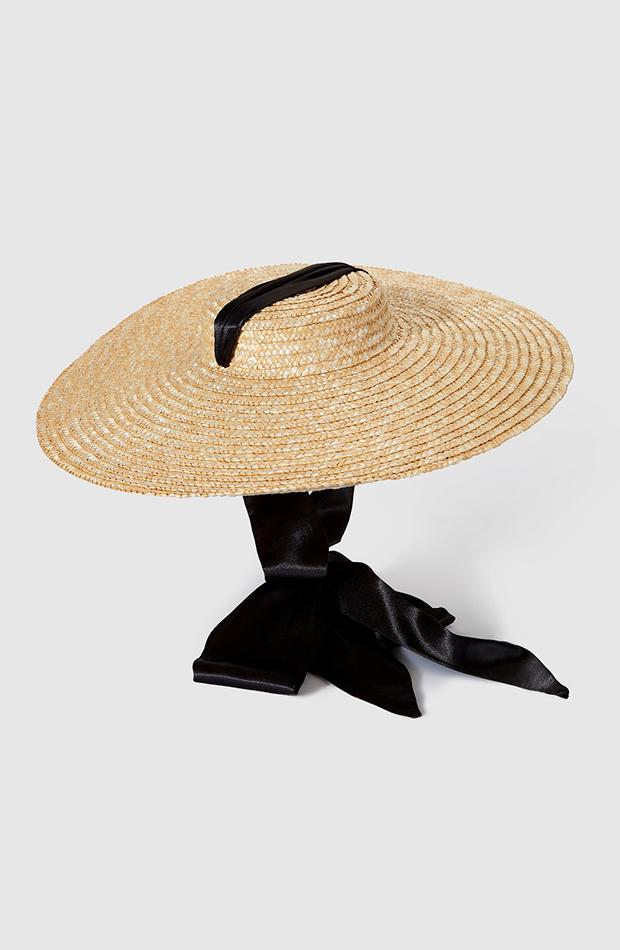 accesorios para el pelo invitada pamela la sombrerera de paja en tono natural con cinta