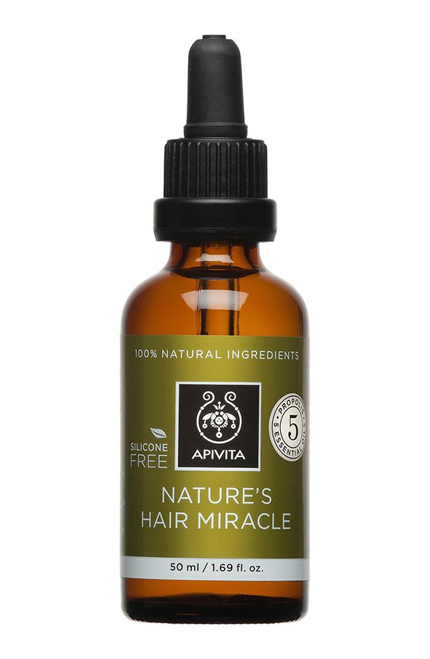 aceite fortificante cinco esenciales apivita productos para el cabello