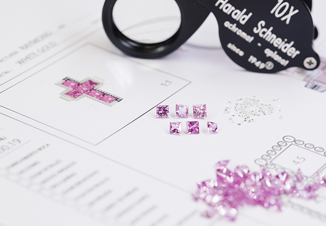 Materia prima de calidad para las joyas de Suarez