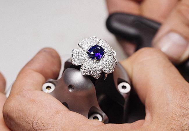 Las joyas de Suarez se realizan artesanalmente