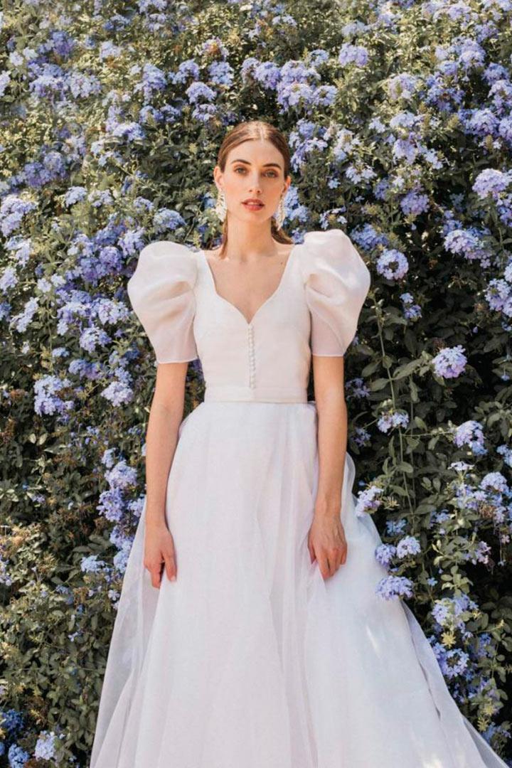 Vestido de novia Cherubina