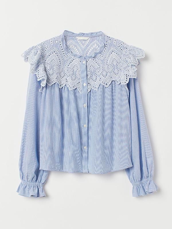 Blusa de H&M con cuello bobo