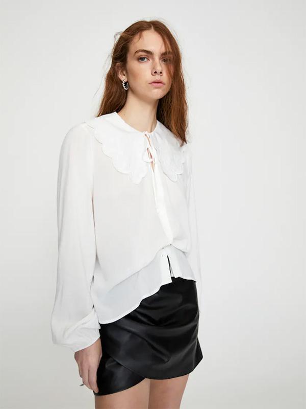 Camisa de Pull&Bear con cuello bobo