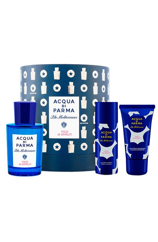 estuche de regalo eau de toilette fico di amalfi blu mediterraneo by gio pastori acqua di parna regalos san Valentin hombre beauty